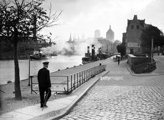 A picture taken on August 1939 shows a view of Danzig port . World War II started on September 1939 when the German naval forces assaulted the Polish Military Transit Depot of Westerpatte in. Danzig, September 1, Prussia, World War Ii, Poland, Germany, Shows, Military, City