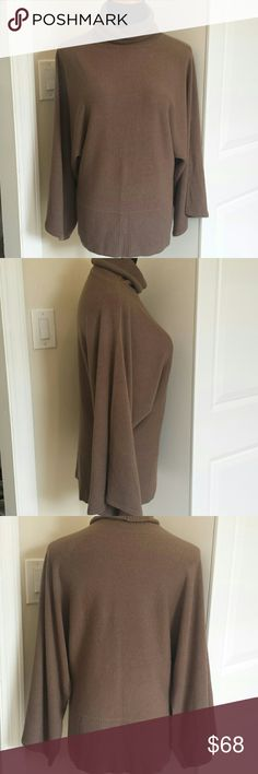 NWOT BCBG MaxAzria Cowl Neck Sweater Super cozy and comfortable long bell sleeved cowl neck sweater. So soft and perfect for fall. Feel free to make offers! BCBGMaxAzria Sweaters