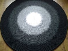 Large crochet round rug, 61'' (156 cm)/Crochet Rug/Rugs/Rug/Area Rugs/Floor Rugs/Large Rugs/Handmade Rug/Carpet/Wool Rug by AnuszkaDesign on Etsy