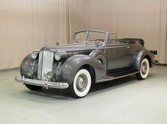 Packard Super Eight Convertible, 1938