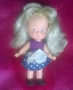boneca antiga kiti estrela mini doll