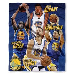 Golden State Warriors Team NBA Players HD Silk Touch Throw. 50 x 60. Visit SportsFansPlus.com for Details.