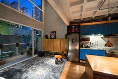 Galeria - Apartamento cobre/blue / Casa100 Arquitetura - 2