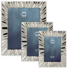 Prinz Marquette Metal Picture Frame in Silver - BedBathandBeyond.com