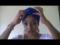 Cabelo Afro: Turbante 4 - YouTube