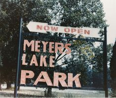 Meyer's Lake Park