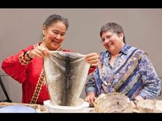The Sewing Salmon residency -- hosted by the Smithsonian Institution's Arctic Studies Center at the Anchorage Museum -- brought three contemporary Native art.
