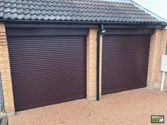 Remote-controlled Roller Shutter Garage Doors are super easy to use. If you're looking for 'roller shutter garage doors near me', you'll be pleased to know that we install garage doors electric UK wide. Roller Doors, Roller Shutters, Electric Garage Doors, Garage Door Installation, Shutter Doors, Door Design, Double Garage, Super Easy, Outdoor Decor
