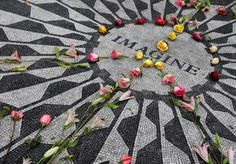 John Lennon ~ Strawberry Fields Forever - NYC