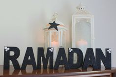 Ramadan decoration Ramadan sign by TheEclecticRevival on Etsy