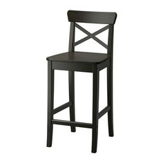 Ikea bar stools $59- I like the style of these bars tools but paint them a different color