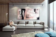 Apartment Decor Original Art Artwork Acrylic Painting image 1