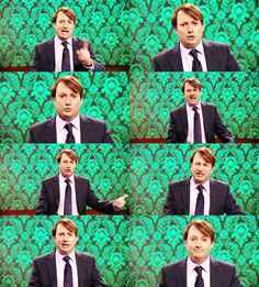 The many faces of David Mitchell