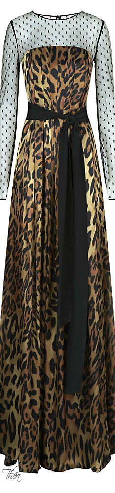 Escada ● Gabani Leopard Gown