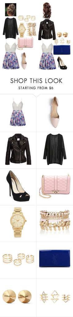 """#WhichOutfitWouldYouWear?"" by izzy-ccix on Polyvore featuring Ally Fashion, Journee Collection, INC International Concepts, Rebecca Minkoff, Michael Kors, River Island, Eddie Borgo, Charlotte Russe, women's clothing and women"