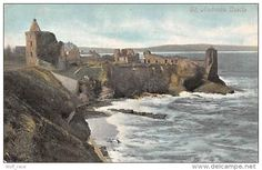 St Andrews Castle Ruins Chateau Schloss - Midlothian/ Edinburgh