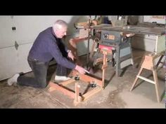 Retractable Casters for Power Tools - YouTube