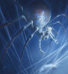 Reine du nid d'araignée sur Vangard