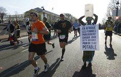 AFP photo, Thomas Samson - Gambienne Siabatou Sanneh