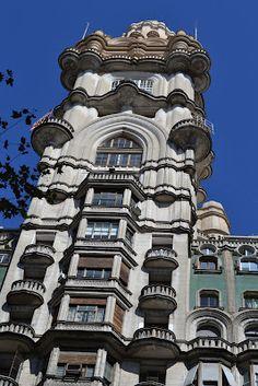 MisteriosaBsAs: El Palacio Barolo Mario, South America, Art Nouveau, Bs As, World, Building, Travel, Photos, Buenos Aires