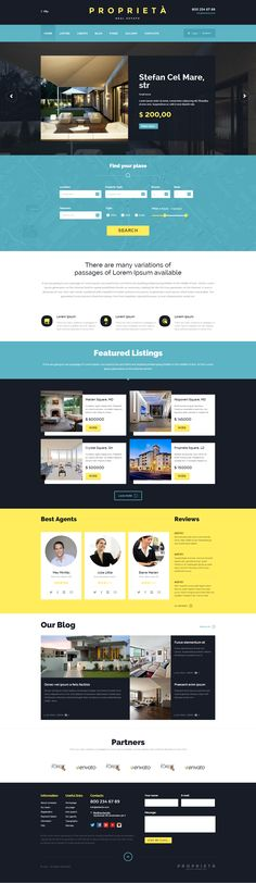 Proprieta Responsive WordPress Theme #web #business
