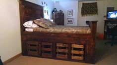 handmade-pallet-bed-with-underside-storage.jpg (960×540)