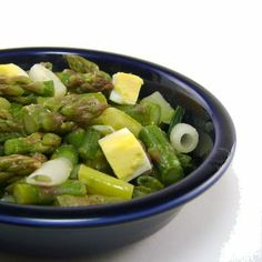 Grilled Asparagus Salad with Fried Eggs // More Fantastic Healthy Breakfasts: fandw.me/L4x #foodandwine