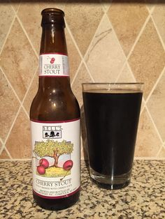 Bell's Cherry Stout is a massive bomb of tartness that leaves a fallout of chocolaty malt in its wake. Don't let the peaceful nature scene with dancing cherries on the bottle fool you, this is not a beverage for the timid.