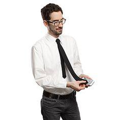 Microfiber Lens Cleaning Skinny Necktie | ThinkGeek