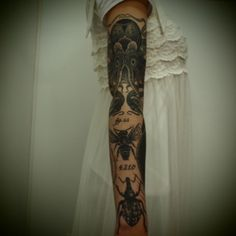 Tatto by Guy Le Tatooer #design #arm