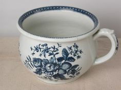 Chamber pot, 1780, porcelain. Osterley Park © National Trust / Christopher Warleigh-Lack