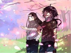 Hinata and Neji Hyuga