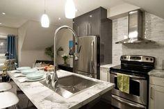Formica® Bianca Luna 180fx® on HGTV's Income Property (5 photos)