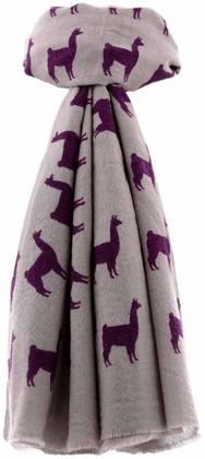 Ethically handmade llama scarf by Sofia Costas at Shop Ethica #artisans #ethicalfashion