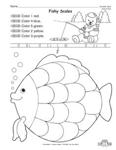 Fishy Scales, Lesson Plans - The Mailbox