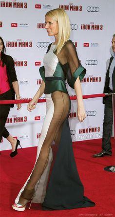 gwyneth paltrow sheer dress