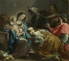 Adoration of the Magi 1725 Museum:Museum of Fine Arts,Boston Artist:Corrado Giaquinto