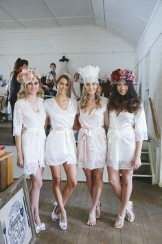 Homebodii bridal robes Byron Bay Bridal Showcase.