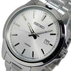 セイコー SEIKO クオーツ メンズ 腕時計 SUR151P1 シルバー