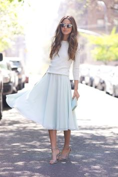 @roressclothes closet ideas #women fashion outfit #clothing style apparel Light Color Outfit
