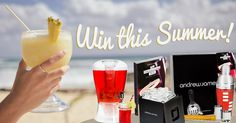 Beach Party Giveaway - Make Summer Drinks!