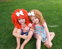 Cabbage Patch Wigs Halloween Costumes