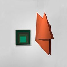 Both Josef Albers and Hélio Oiticica used colour structures in contrasting ways. Albers used a core compositional structure to examine colour relationships and visual perception. Oiticica was occupied by the attempt to liberate colour from a flat, two-dimensional plane and the removal of the space between the art object and viewer. His sculpture 'V6 Spatial Relief, Red (V6 Relevo especial, vermêlho)' 1959 (constructed in 1999), is a folded construction designed to hang in space, enabling the…