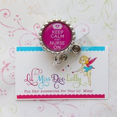 Lil Miss Doo Lolly offers fun, fashionable accessories for children and adults alike! Retractable ID Badge Reels featuring our popular feltie