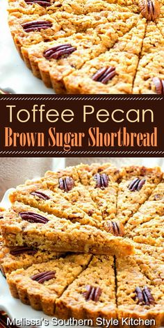 Cookie Desserts, No Bake Desserts, Just Desserts, Cookie Recipes, Delicious Desserts, Dessert Recipes, Yummy Food, Cookie Bars, Pecan Desserts