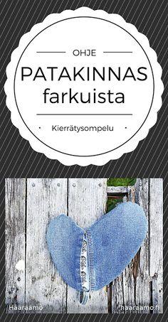 Ohje: Patakinnas farkuista ja froteepyyhkeestä http://www.haaraamo.fi
