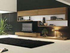 Me encanta este mueble.. Decoración de Salas Minimalistas3