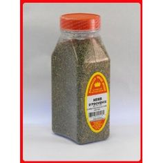 HERBS De PROVANCE FRESHLY PACKED IN LARGE JARS  -  3 OZ by MARSHALLS CREEK SPICES  4.7 out of 5 stars  Price:  $10.02    INGREDIENTS: ROSEMARY, THYME, MARJORAM, BASIL, LAVENDER, SAVORY, FENNEL.