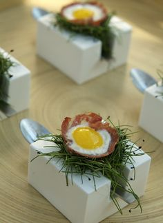 fantastic catering display #plating #presentation