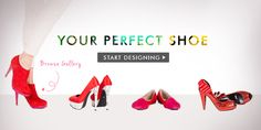 Shoes of Prey - Design and create your own unique shoes and have them shipped to you! Good bye bank balance!
